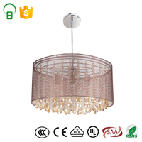 Modern hanging residential light fixtures for living room and hotel decoration
