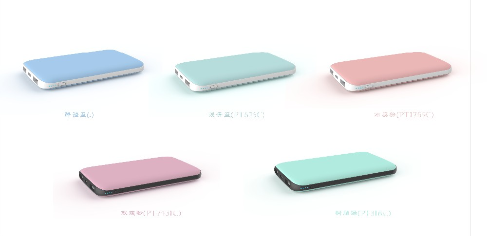 C1002 10000mAh Type C port Power bank ABS+rubber oil Shell