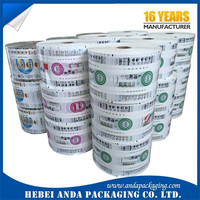 flexible packaging film/food packaging plastic roll film/ herbal tea bag food packaging plastic roll film