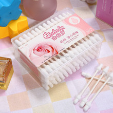 88pcs paper stick in PP box baby safty ear cleaning cotton buds