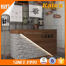 Modern Commercial Coffee Bar Counter For Sale