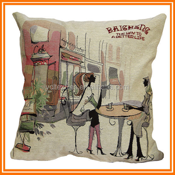 Manufacture Latest Design 2014 Top Seller cushioning The best price Wholesale Cushion Cover