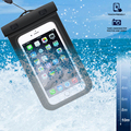 Diving series waterproof bag for iphone X with rope