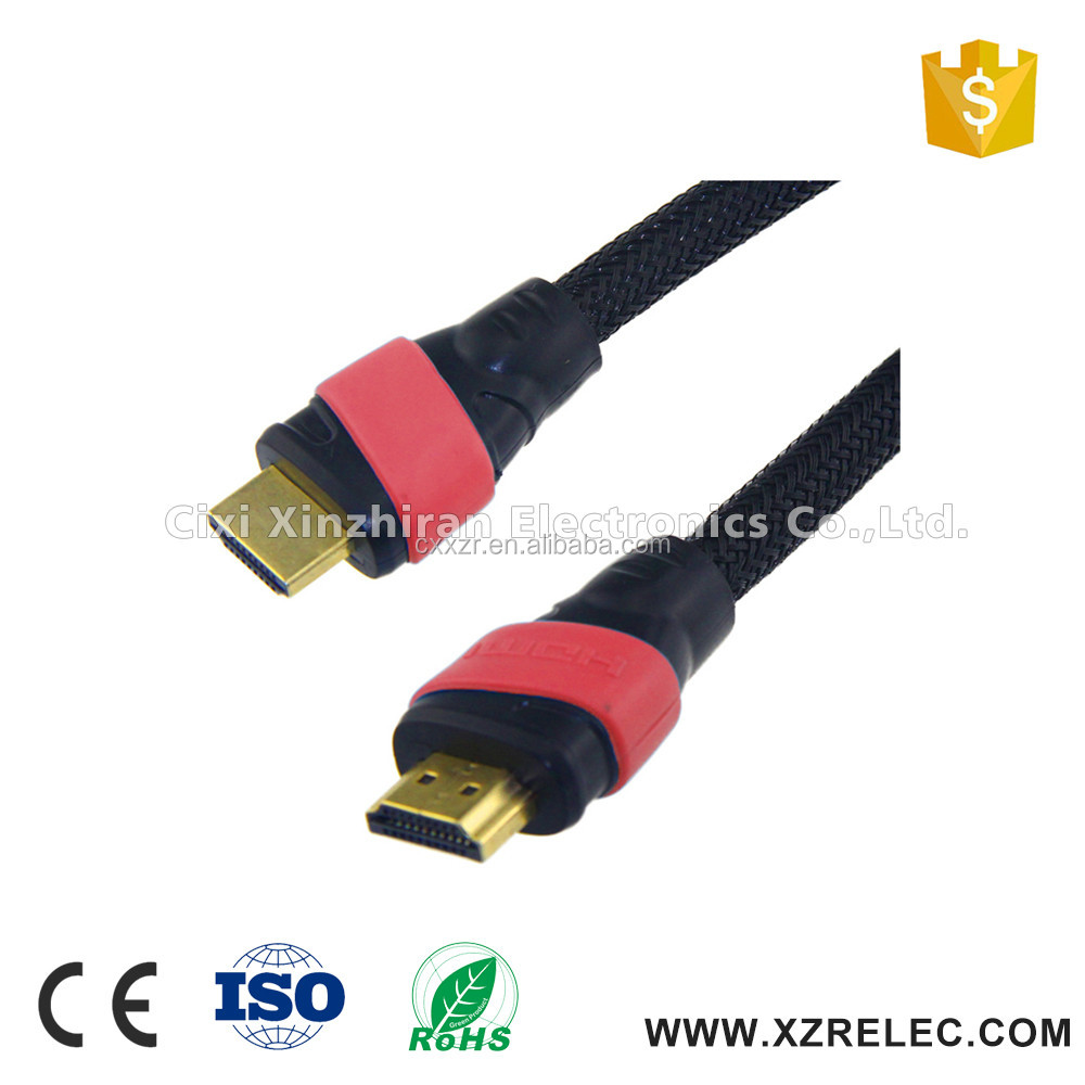 High Speed hdmi 2.0 cable with Ethernet 1080p 3k 4D 2M