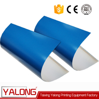 china blue conventional ctp printing offset plate