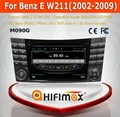 HIFIMAX Car Multimedia For Mercedes E class W211 (2002-09) Android 4.4.4 Navigation Radio WITH WIFI 3G INTERNET DVR SUPPORT