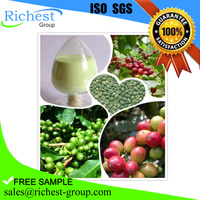free sample green coffee bean extract powder