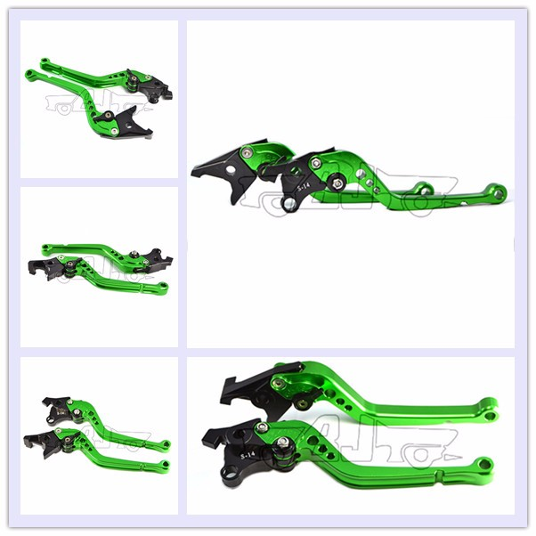 BJ-LS-003 adjustable cnc motorcycle hand brake lever racing bike Long Clutch Brake Lever for Ducati