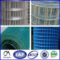 Reinforcing welded wire mesh Ribbed wire mesh PVC coated low price weldede wire mesh