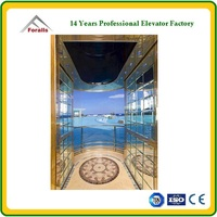 Sightseeing elevator - Great experiencing safe and comfortable elevator