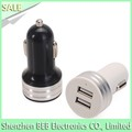 5v 2100ma dual port car charger for iphone 6 iphone 5s usb car charger on sale