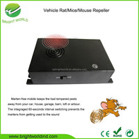 ABS Plastic Black Electronic Mouse Trap for Car