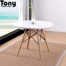 2017 new design wood coffee table restaurant furniture MDF table baby table