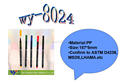 Non-toxic Colorful permanent sign pen, permanent CD marker pen