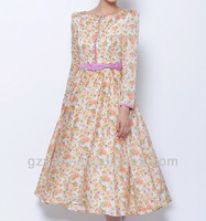 chinese clothing supplier for women chiffon fashion long dresses