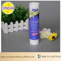 250ml Color Offset Printing Cosmetic Tubes For Moisturing Body&Hand Cream