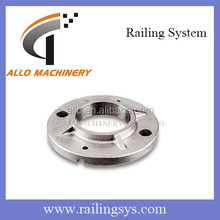 flange 40mm railing flange cover stair handrail base plate