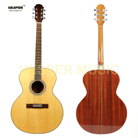 41 inch solid top Jumbo style acoustic guitar, handcraft acoustic guitar