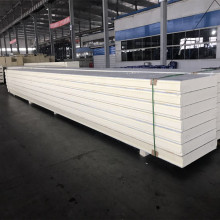 polyurethane PU waterproof wall structural rigid insulation insulated corrugated aluminum roof sandwich panels