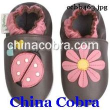 high quality genuine leather soft sole baby shoes