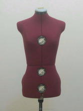 #MOD.150(M) MADE IN TAIWAN FEMALE HALF BODY ADJUSTABLE TAILORING MANNEQUIN