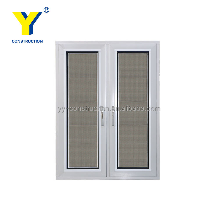 China factory wholesale USA standard aluminium windows_casement window with screens_french casement window