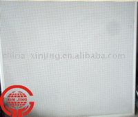 China perforted acoustic ceiling panel