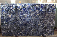 Factory price funiture Sodalite perfect terminated specimens with mother rocks marble table/funiture