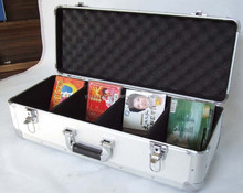 aluminum tool box hard case for tools,measuring devices,CD's,laptops,coins