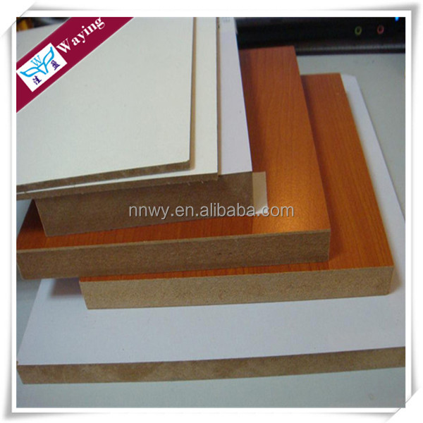 cheap price waterproof 4x8 Melamine MDF Boards/Plain MDF Sheets