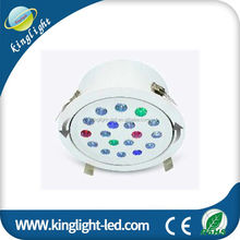 jewelry diamond light Rotating Led Strobe Light Multi Color Changing Crystal DMX Stage Lamp