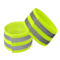 Safety running warning reflective vest with armband