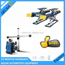 "19"" LCD four wheel alignment machine price with 24months warranty"