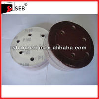 Platinum Grade Brown Fused Alumina Velcro Backed Sand Disc