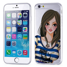 Brand Phone Case for iphone6, cell phone case packaging, silicon phone case machine