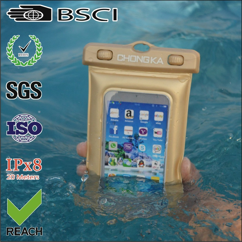2016 wholesale high quality waterproof mobile phone cases for htc one 7