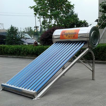 2014 newest model vacuum tube low pressure solar water heater heating system for home use