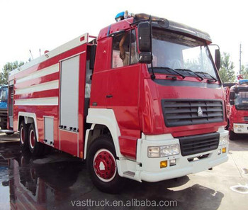 Sinotruck fire engine SXT5320JXFJP42 good quality for sale