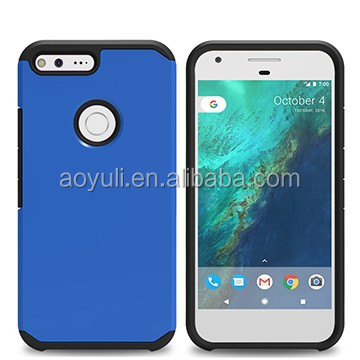 Best price for Google pixel xl mobile case ,PC+TPU & Polycarbonate design,oil rubber phone case,manufactory for mobile case