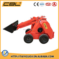 CE EPA approved MS500 mini skid steering wheel crawler loader for sale