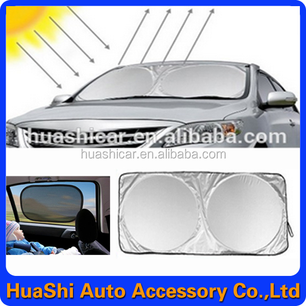promotional gift cheap advertising car sun shade