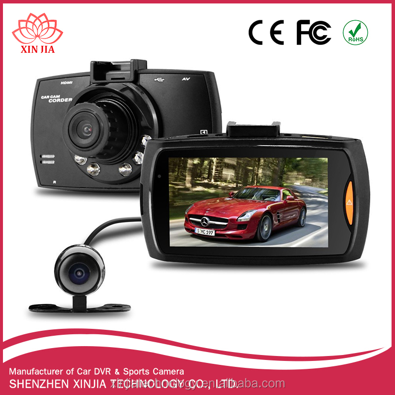 G30 Dash Cam dual lens fhd 1080p car camera 2ch hd car dvr