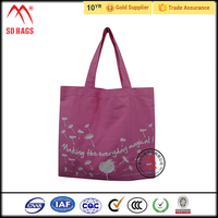 2015 Chrismas Promotional pvc coated cotton shopping bag