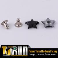 2015 factory design metal alloy apparel rivet studs