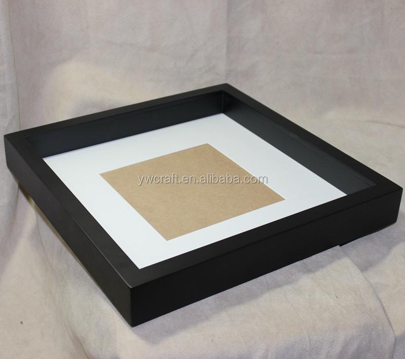 8x8 Großhandel 3d Holz Shadow Box Rahmen Großhandel Schwarz Weiß ...