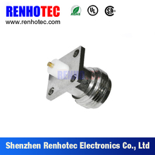 RF Coaxial Type N Panel Mount Receptacle Connector