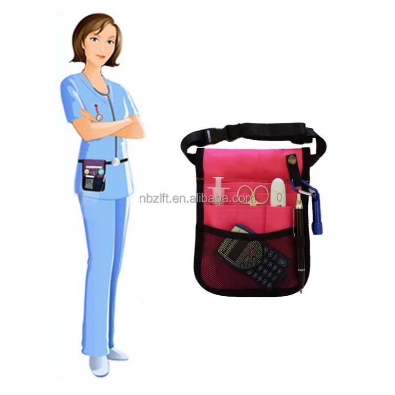 Promotional Polyester Nursing Student Bag Hospital Tools Pouch