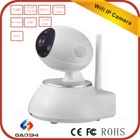 NEW 720p wireless door mini robot sd card recording ip dome camera