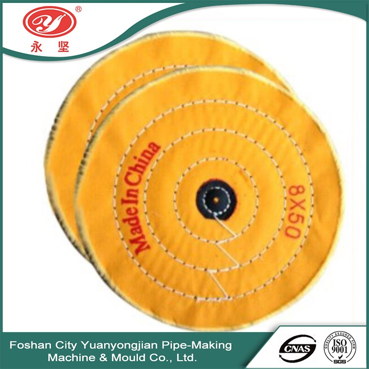 Sell Online Yellow Cotton Cylinder Polishing Wheel