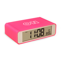 Flip LCD Screen Digital Alarm Clock
